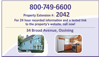 34 Broad Ave- Business Card