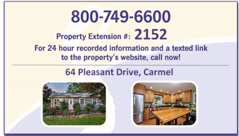 64 Pleasant Drive- Business Card