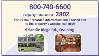9 Saddle Ridge Rd-- Business Card