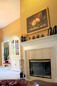 Staging a Home - Fireplace