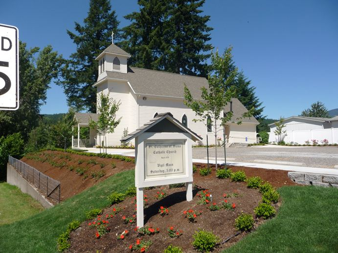 Church in Mill City Oregon just 30 minutes from Salem Oregon.