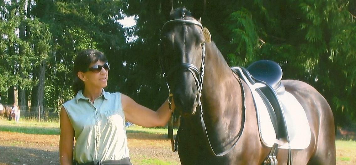 Trisha with Gerrit
