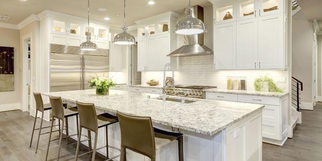 luxury craftsman style kitchen at Ramsgate clayton