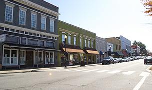Salem Street in Apex