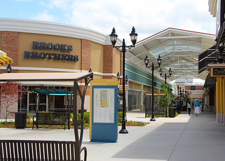 Tanger Outlets in Mebane, NC