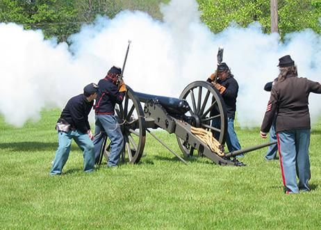 Morrisville History Center Civil War Reenactment