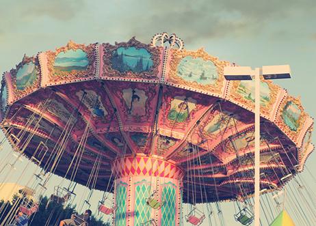 carousel at NC State Fair