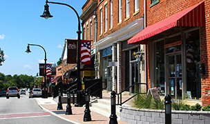 Historic Downtown Wake Forest