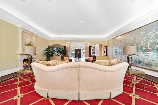 formal living room area of 12324 birchfalls drive