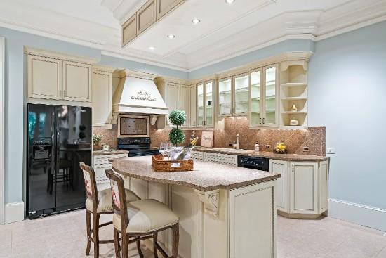 kitchen in guest suite at 12324 birchfalls drive