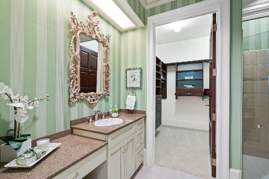 bathroom in guest suite at 12324 birchfalls drive