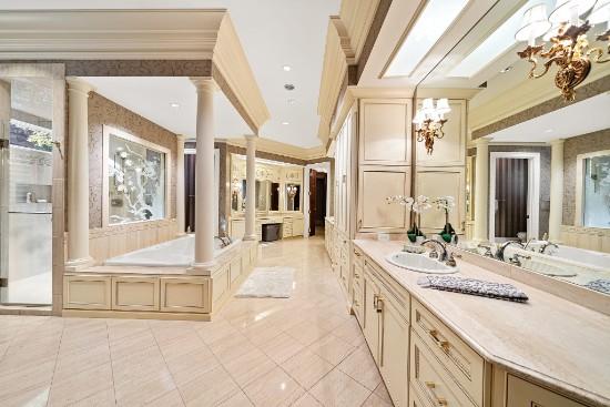 master bathroom at 12324 birchfalls drive