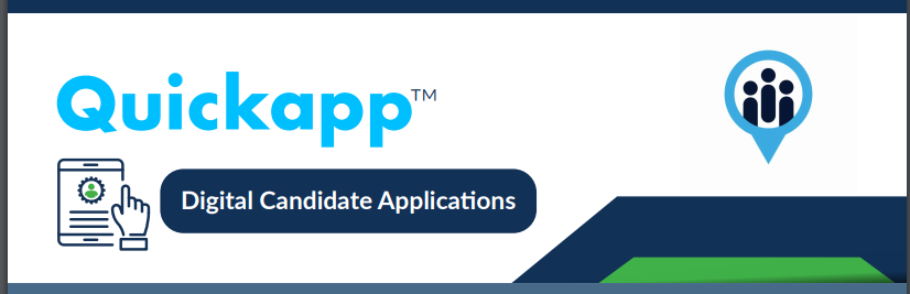 Automate your application and screening process with QuickApp, the best Online Application Tracking System. QuickApp is secure, self-configurable.