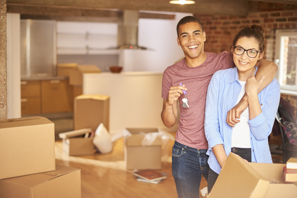 move into your new home