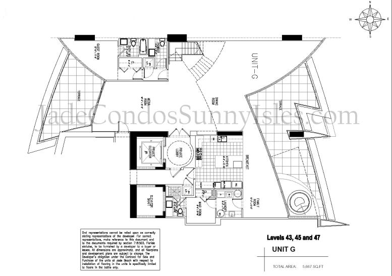 Jade Beach G Line Floor Plan image