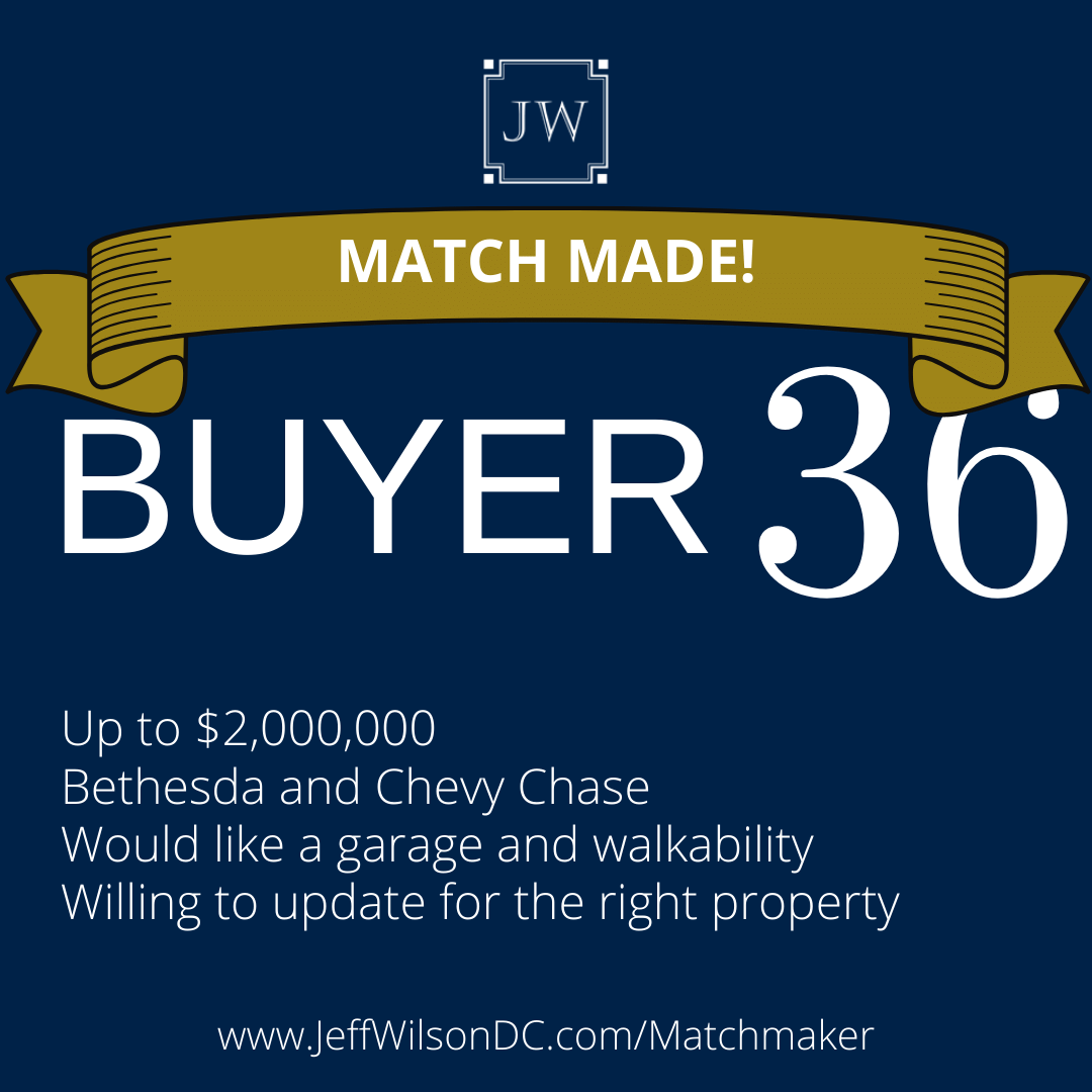 Buyer 36 Matched