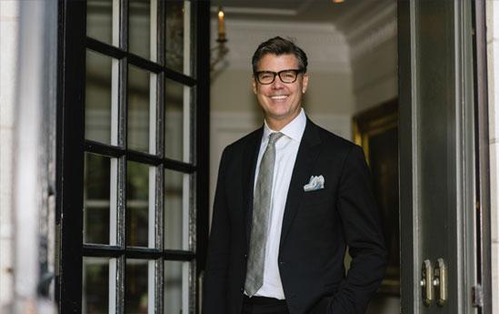 Photo of Jeff Wilson in a Doorway