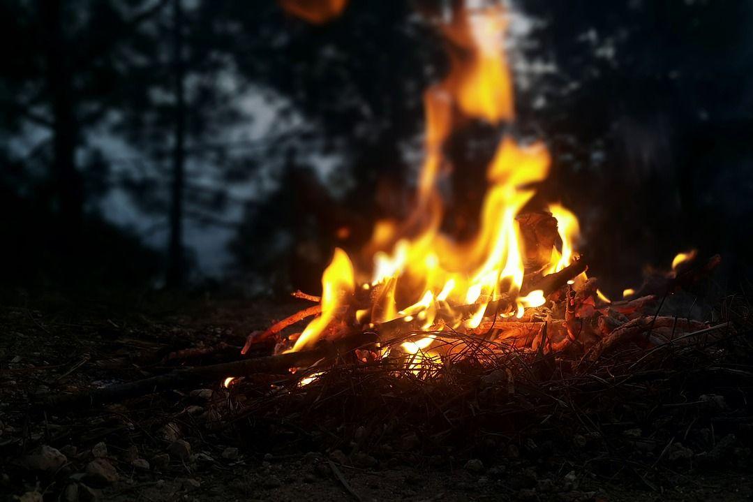 annual bonfire