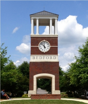 Bedford Raleigh NC Clock Tower