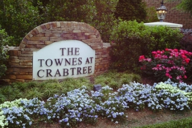 The Townes at Crabtree Raleigh NC