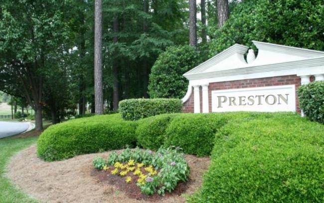 Preston, Cary NC