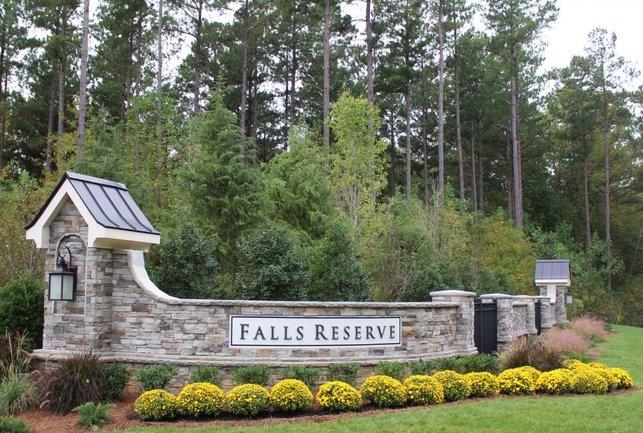 Falls Reserve Entrance