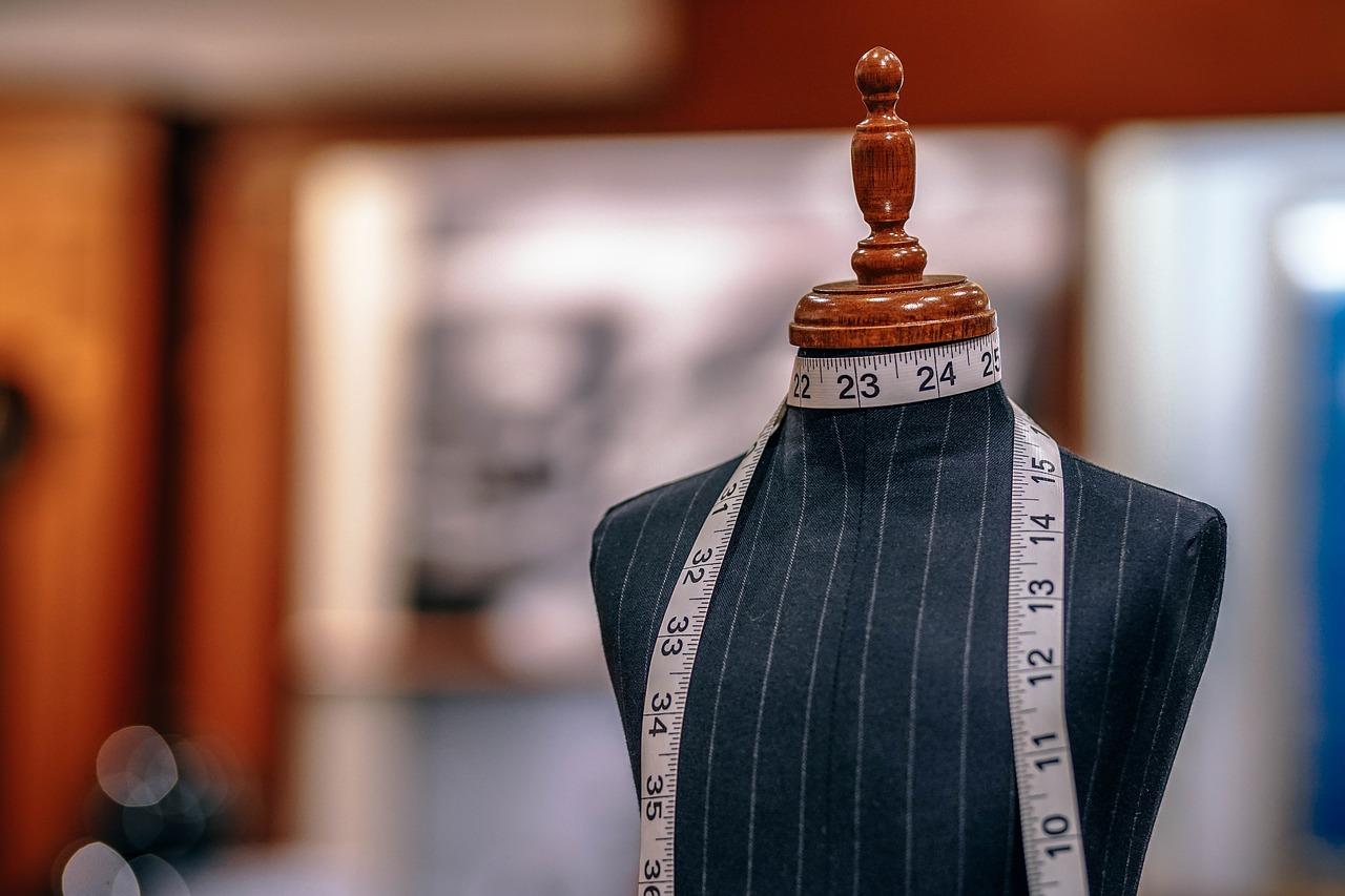 mannequin in a fashion boutique