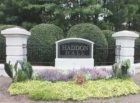 Haddon Hall Neighborhood Sign