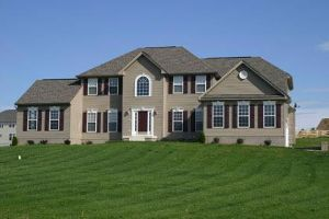 single-family home in Spruce Hill community