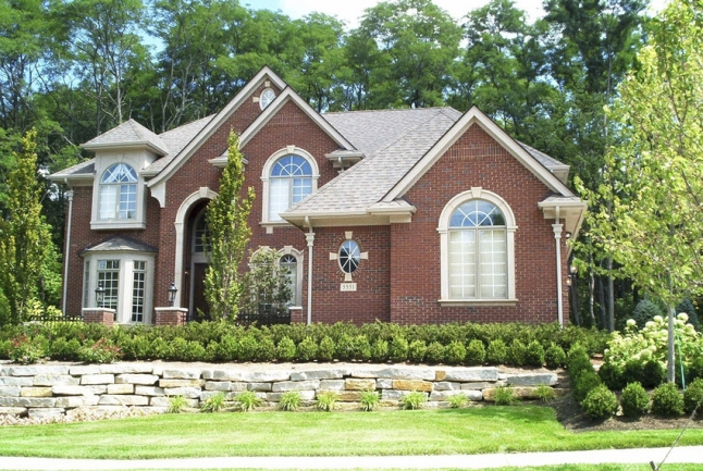 Luxurious homes in a charming community.