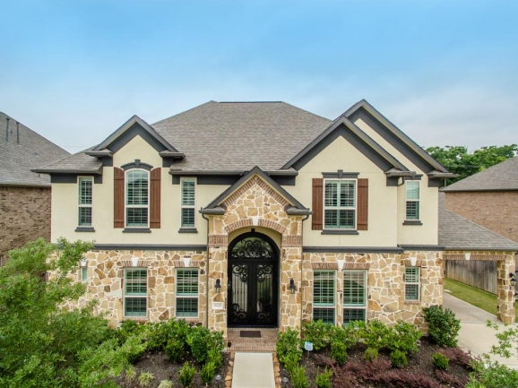 Resort-style amenities and new homes in a master-planned community.