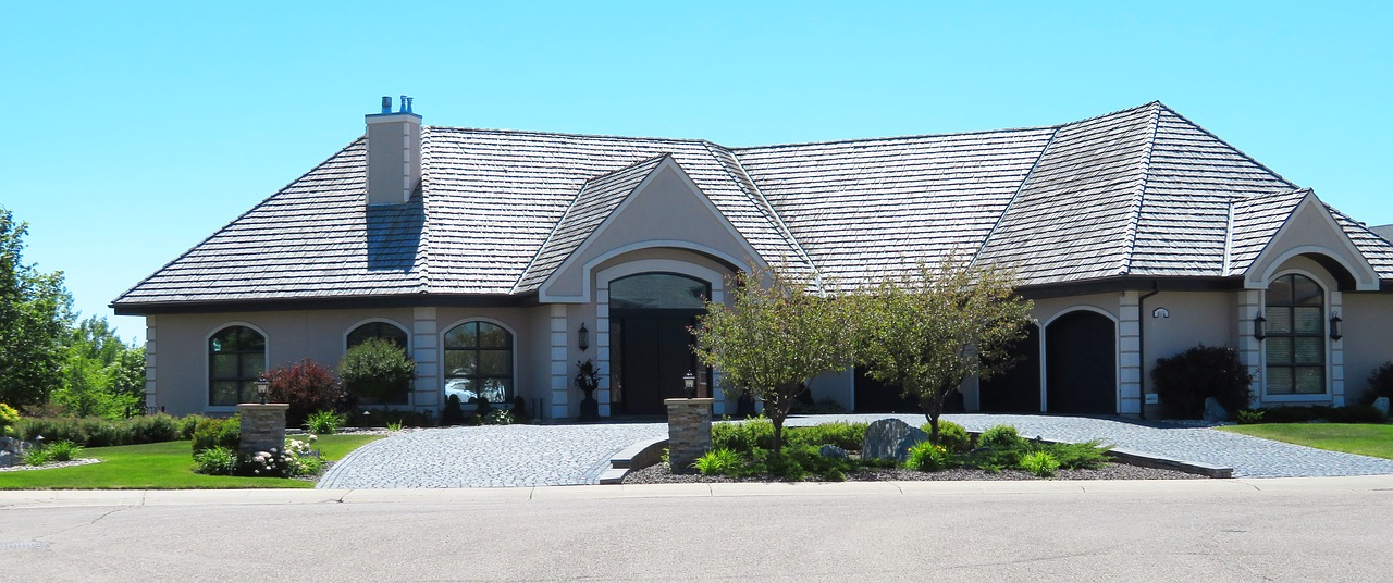 suburban estate home