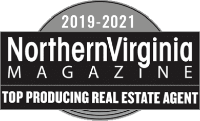2019 - 2021 NorthernVirginia Magazine Top Producing Real Estate Agent