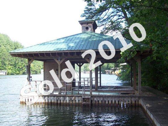 Boathouse on Lake Rabun