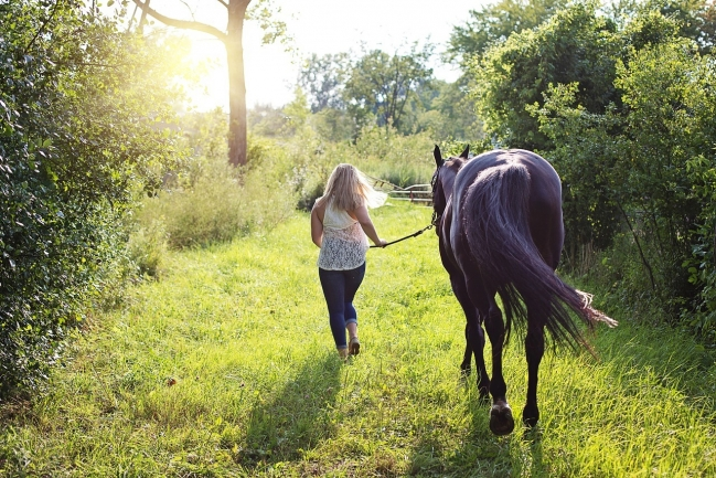 Portofino is an ideal community for equestrian enthusiasts.
