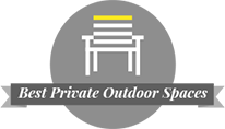 click for best private outdoor spaces