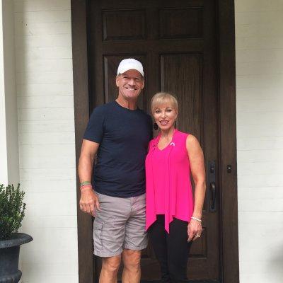 Bill Cowher and Linda Craft