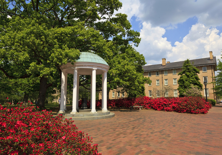 Old Well at University of North Carolina in Chapel Hill