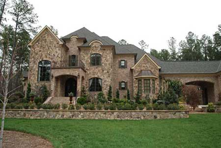 Photo of outside of luxurious home