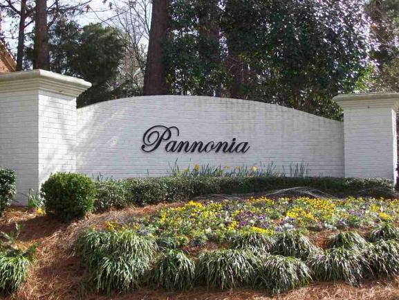 Pannonia entrance sign