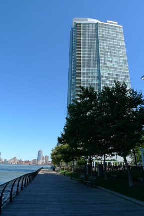 Crystal Point Glitters in the Jersey City, NJ Skyline