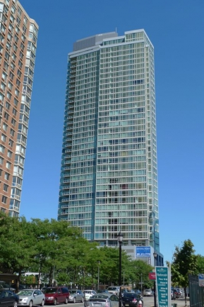 Plenty of Windows at Crystal Point to Enjoy the View from Jersey City, NJ