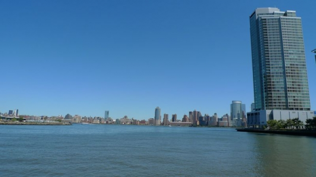 Gorgeous View of New York City from Crystal Point in Jersey City, NJ