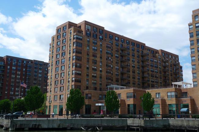 Distant View of 2 Constitution Court in Hoboken, NJ