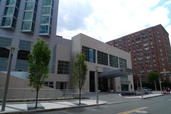 The W Hoboken Main Entrance in Hoboken, NJ