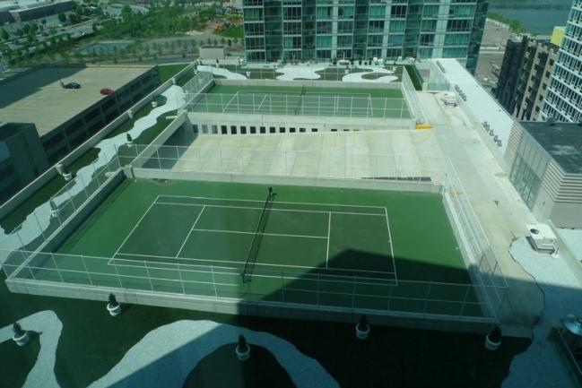 Shore Club Tennis Court in Jersey City, NJ