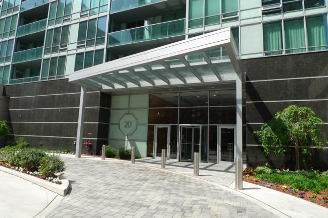 Shore Club Entrance in Jersey City, NJ