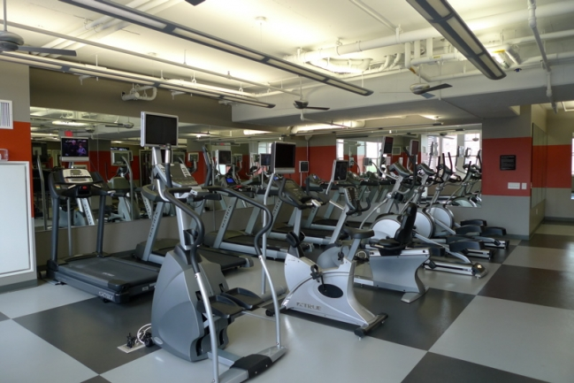 Gym for Maxwell Place Residents