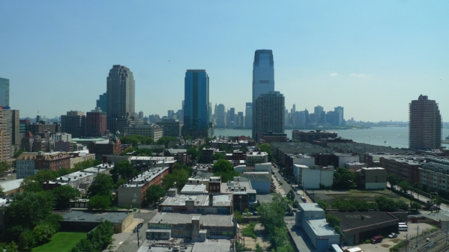 Amazing City View of Jersey City from Gulls Cove