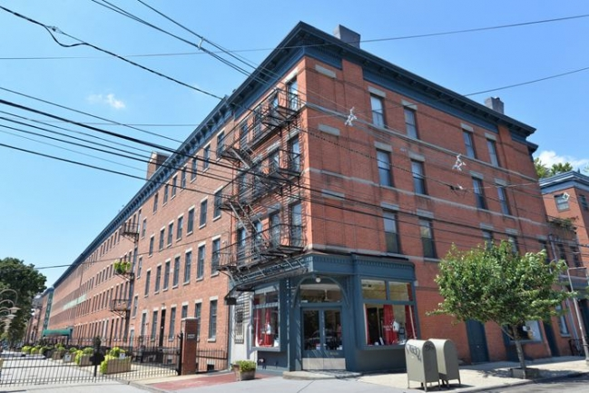 Dixon Mills condominiums in Downtown Jersey City